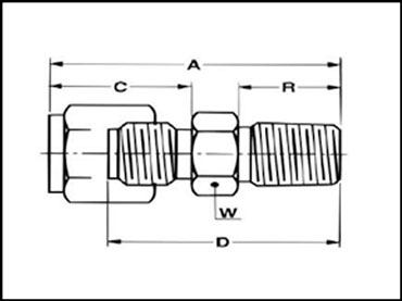 male-connector-d